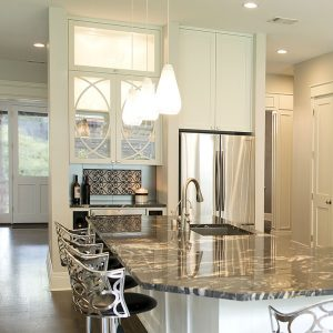 Contemporary Kitchen Winebar - 4