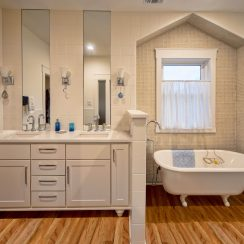 new and improved master bath website