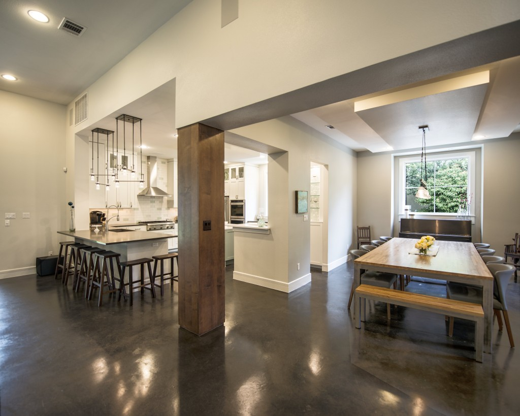 kitchen, dining, modern, contemporary, transitional, austin, architect, architecture