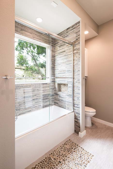 Rob Roy, Austin Texas, Bathroom Design, Tiled Shower, Texas Hill Country, Contemporary Design