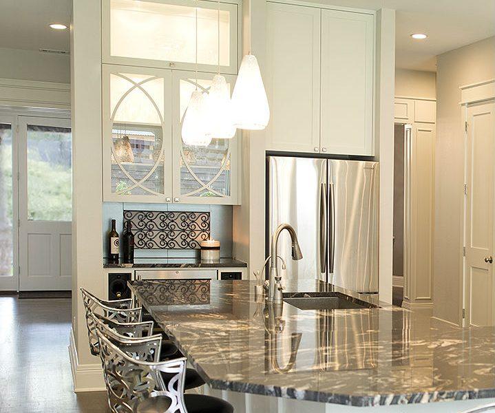 Contemporary Kitchen Winebar - 4