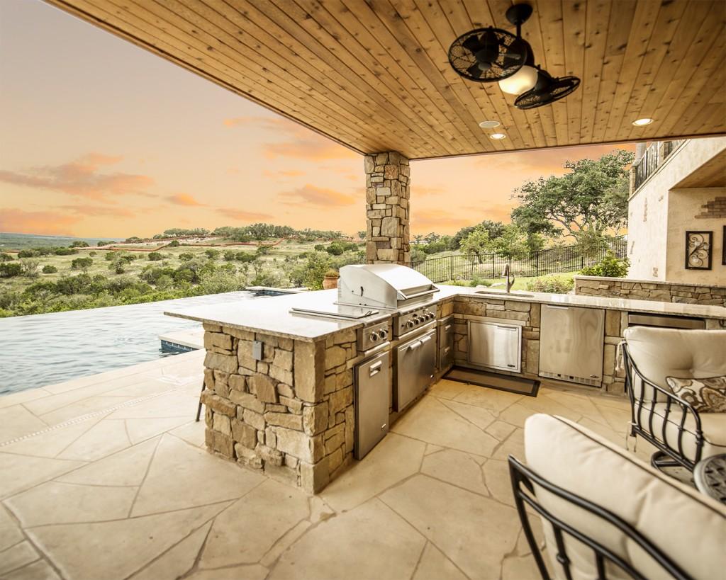 austin, architecture, architect, negative edge pool, pool, spanish oaks